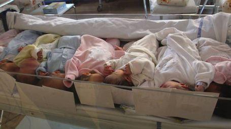 Un reparto maternità in ospedale