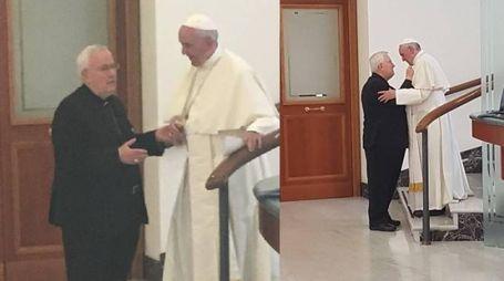 Bassetti ieri dal Papa