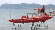 Un bagnino in Riviera romagnola (Frascatore)