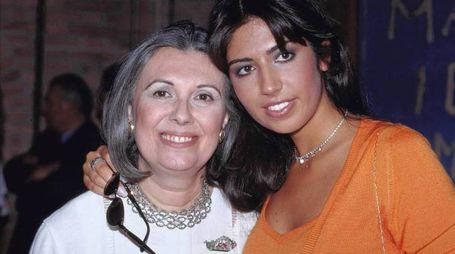 Laura Biagiotti e la figlia Lavinia (Olycom)