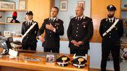 La conferenza stampa dei carabinieri (foto Goiorani)