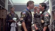 Tom Cruise e Val Kilmer in una scena di 'Top Gun' (1986) – Foto: Paramount Pictures