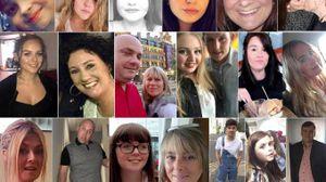 Alcune delle vittime dell'attentato (Ansa)