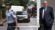 Auto-bomba ad Atene, ferito l'ex premier Papademos (Ansa)