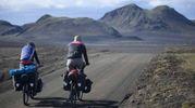 Ciclisti in Islanda (Olycom)