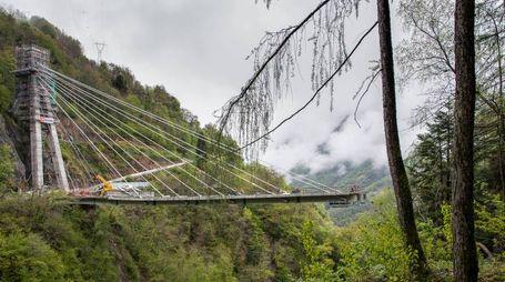 Le recenti immagini del Ponte del Pai