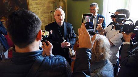Il cardinale Gualtiero Bassetti (Foto Crocchioni)