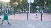 Il campo da basket intitolato a Mario Borella