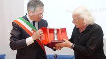 Giacomo Rizzolatti riceve la Torre d'Argento