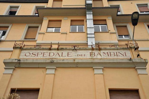 L'ospedale Salesi di Ancona (Foto Ansa)