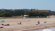 Porto Sant'Elpidio, malore in spiaggia, ambulanza bloccata per 45 minuti (Zeppilli)