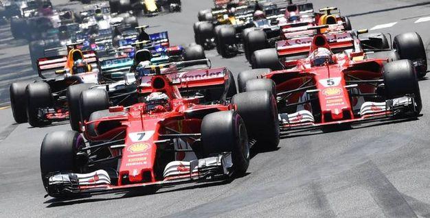 F1, doppietta rossa a Montecarlo
