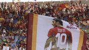 L'Olimpico per l'ultima partita di Francesco Totti (Ansa)