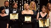 Cannes 2017, i vincitori (Afp)