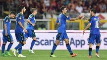 Defrel ha segnato i tre gol del Sassuolo (foto Ansa)