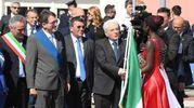 Il presidente Mattarella a Mirandola (Foto Fiocchi)