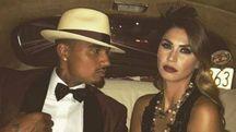 Kevin Prince Boateng e Meliss aSatta (Foto Instagram)