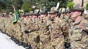 Il nuovo battaglione di Alpini, sono 300 uomini