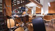 I danni causati in biblioteca