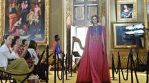 Sfilata di Gucci a Palazzo Pitti (Ansa)