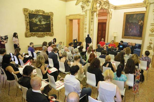 La presentazione nella cornice di Palazzo Belloni (foto Schicchi)