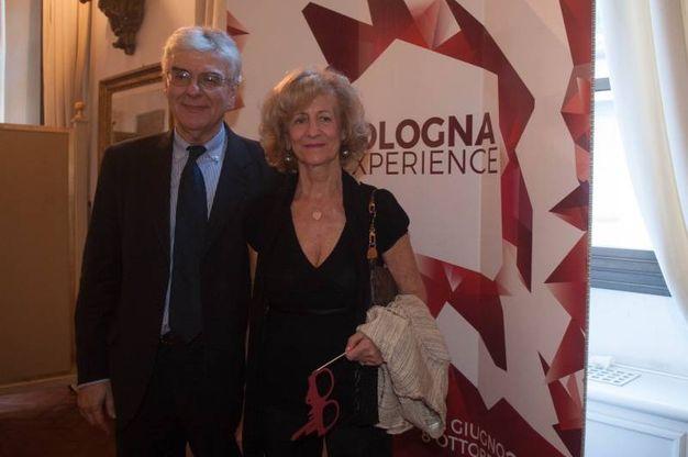Luigi Raffa con la moglie (foto Schicchi)