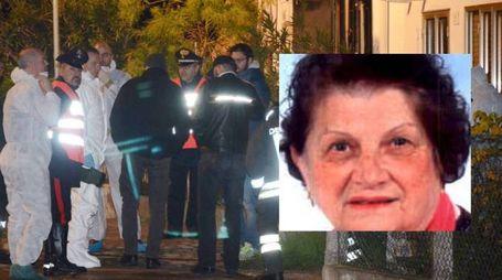La casa dove è stata uccisa Miranda Sarto