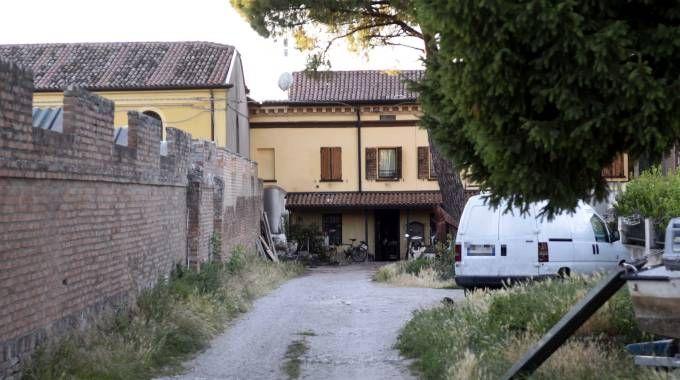 Il luogo della tragedia a Migliarino (Foto Businesspress)