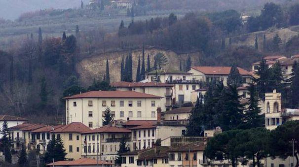 Una panoramica di Rignano sull'Arno (Fotocronache Germogli)