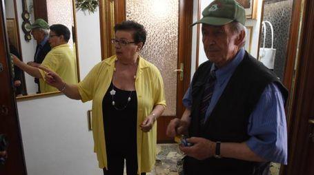 PREOCCUPATI Agostino Bettei e Tina Alessandrini (foto De Marco)