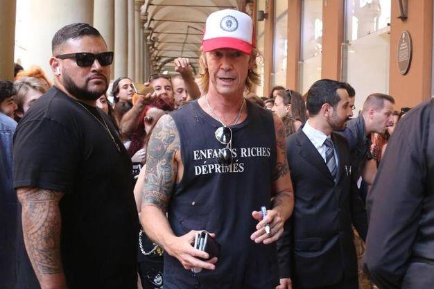 Duff McKagan  a Bologna (foto Ansa)