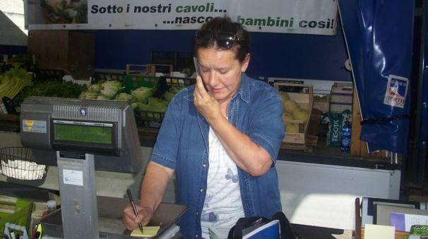 Cecilia Barison al lavoro