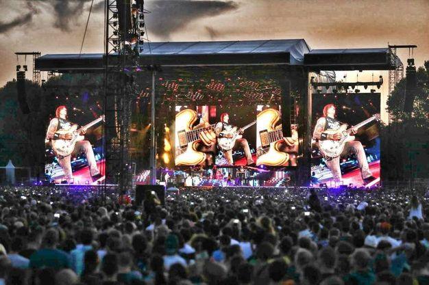 Il concerto dei Guns N' Roses