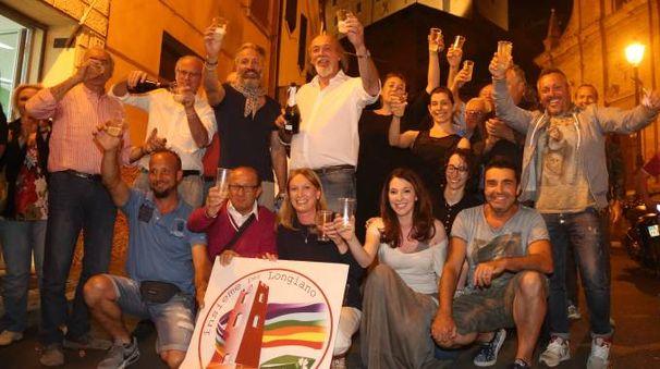 Elezioni comunali 2017 a Longiano, Ermes Battistini è il nuovo sindaco (foto Ravaglia)