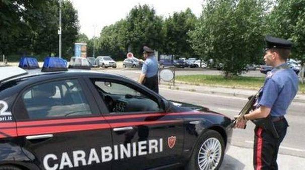 I carabinieri a Numana
