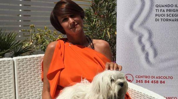 SCRITTRICE Barbara Prampolini, presidente dell'associazione Onlus 'Pronto intervento panico'