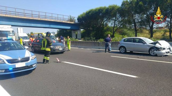 Incidente in A14 a Loreto