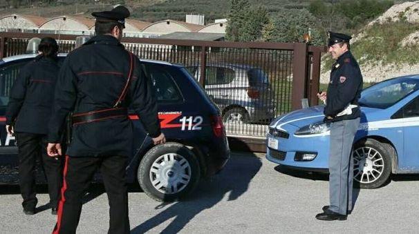 Carabinieri e polizia (foto di repertorio)