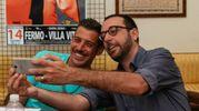 Selfie con Gabbani (foto Zeppilli)
