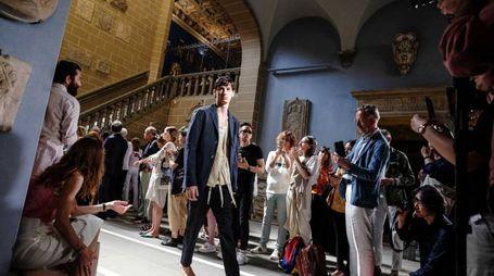 Sfilata dello stilista Federico Curradi (New Pressphoto)