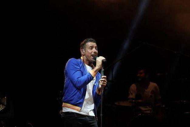 Musica e divertimento a Villa Vitali per il concerto di Francesco Gabbani (Foto Zeppilli)
