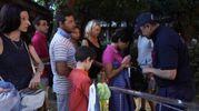 In fila per Gabbani (Foto Zeppilli)
