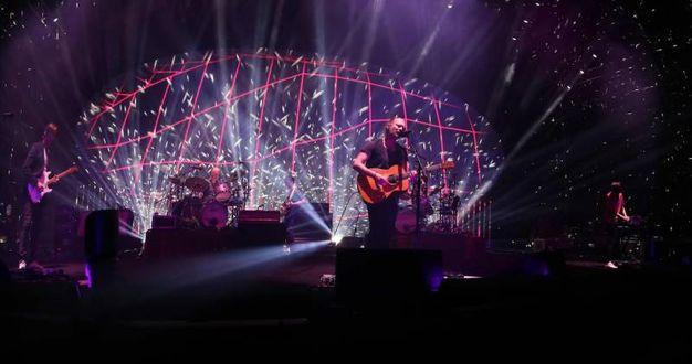 Un momento del concerto (Tania Bucci / New Press Photo)