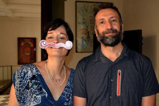 Gli assessori Paola Baldari e Giuseppe Vece (Foto Lanari)