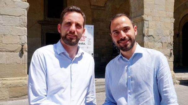 Alessandro Tomasi e Samuele Bertinelli
