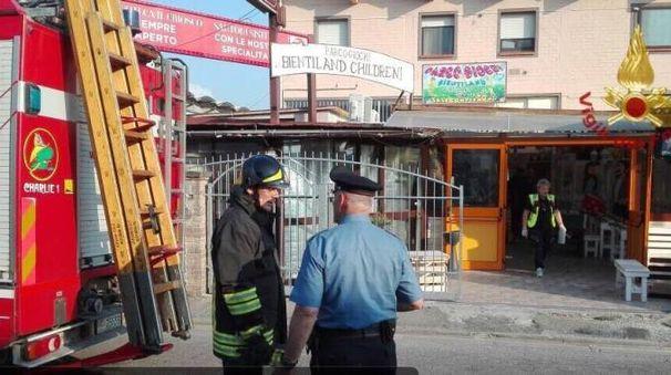 Il pub di Bientina dove c'è stato lo scoppio della bombola di gpl