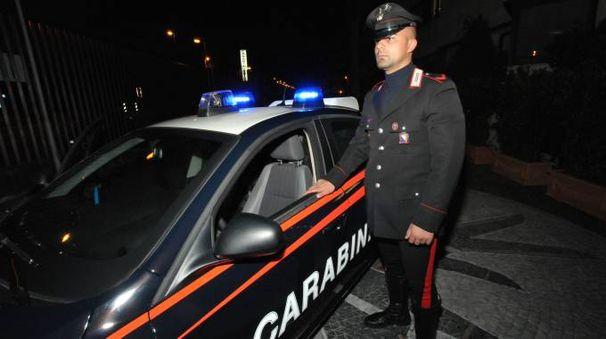 I carabinieri stanno cercando di risalire all'identità dei tre malviventi (Castellani)