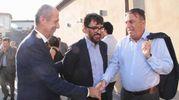Il direttore de La Nazione Francesco Carrassi e l'assessore regionale al turismo Stefano Ciuoffo (Foto New Press Photo)