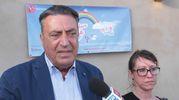 Il direttore de La Nazione Francesco Carrassi intervistato (Foto New Press Photo)