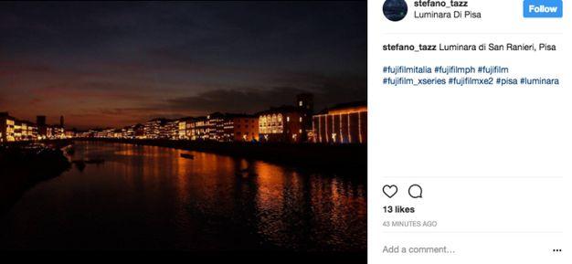 La luminara su Instagram